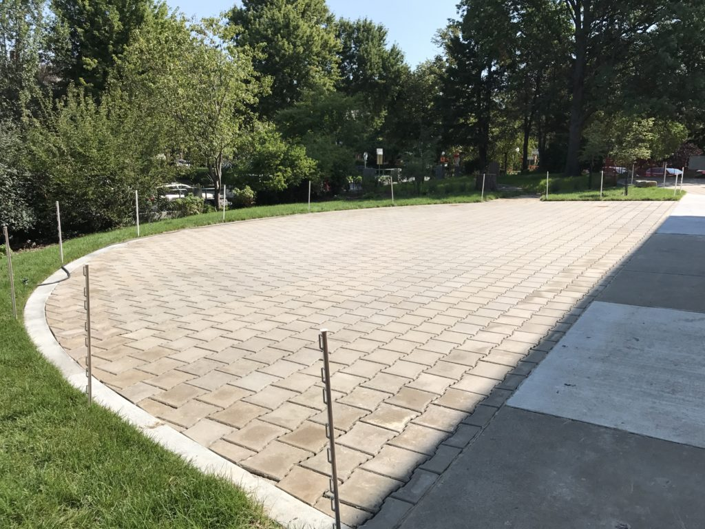 Permeable Pavement Patio