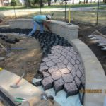 Installation of Permeable Stabilized Pavement at UNO Welcome Center Bioretention Gardens