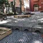 Permeable Paver Installation at Dundee Elementary